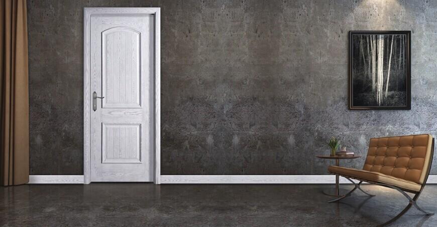 佳禾豪格实木烤漆门--白色简约