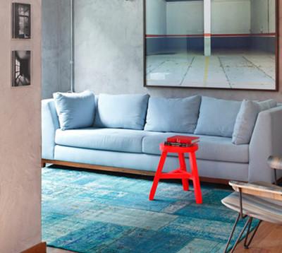 小客厅可以选择简单的置物柜