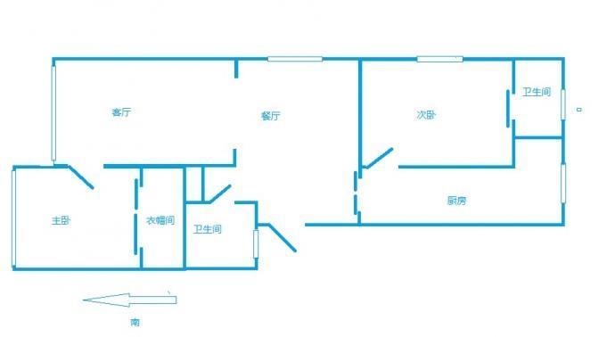 别墅式洋房结构