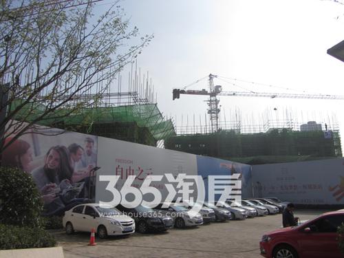 中环云公馆工程进度