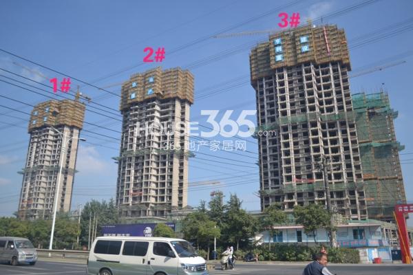启迪协信无锡科技城一期工程进度(2014.10)