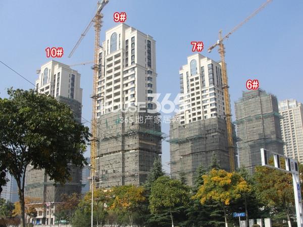 蠡湖瑞仕花园实景图(2014.11 摄)