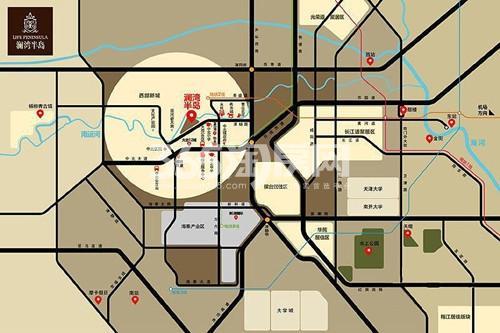 澜湾广场交通图