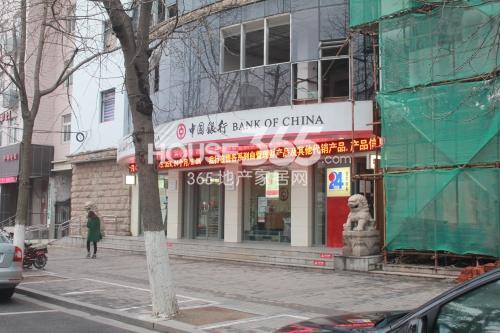 姑苏金茂府周边中国银行
