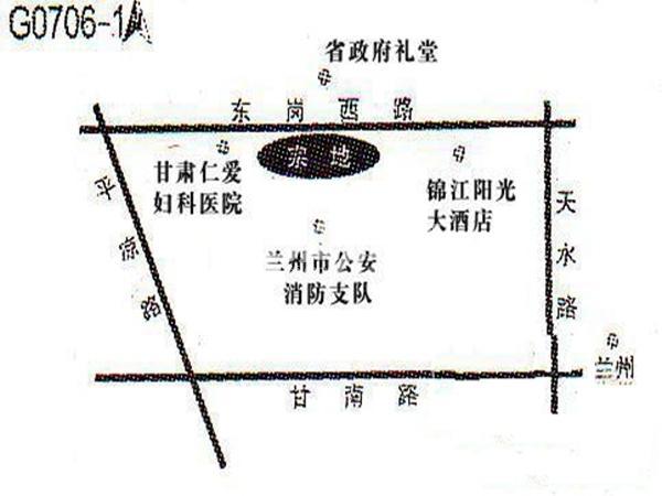 长业金座项目交通图
