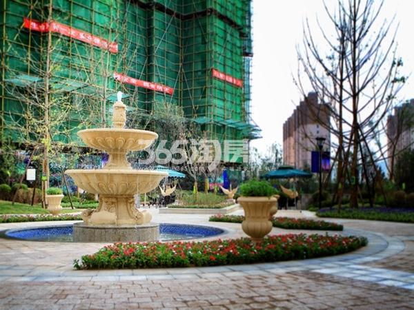 尚锦城园林实景图