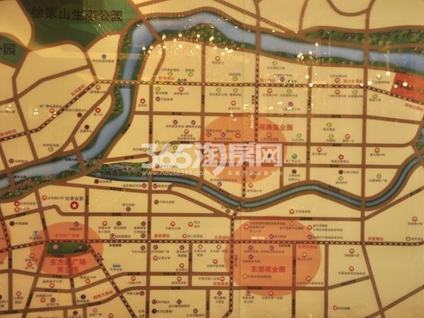 聚金雅园交通图