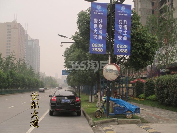 理想银泰城项目周边道路交通配套