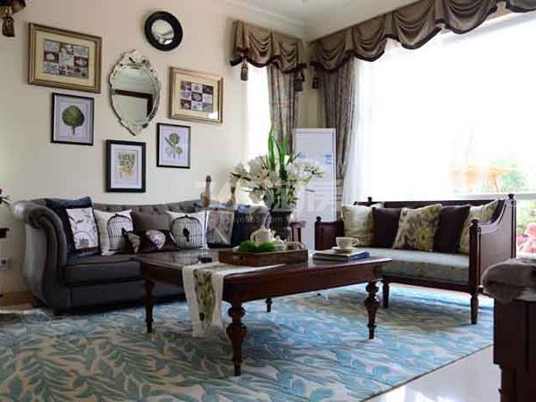 碧桂园城市花园样板间客厅