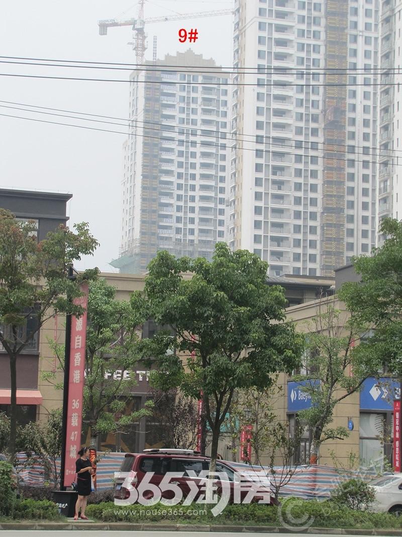 中海滨湖公馆113平米户型样板间客厅
