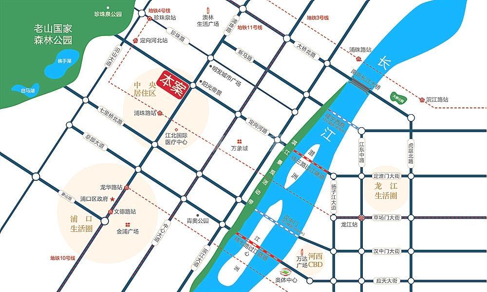 观山悦交通图