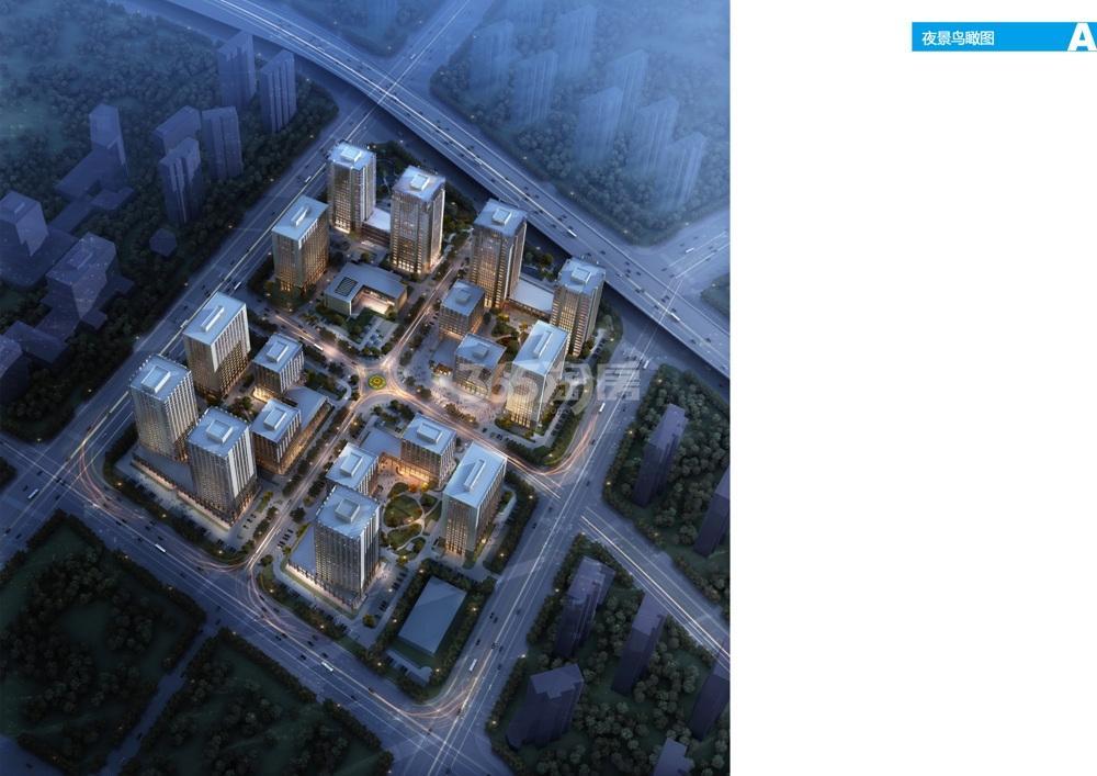 软件谷·科创城鸟瞰图