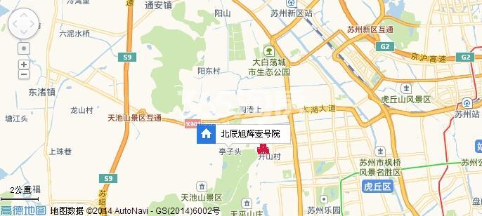 北辰旭辉壹号院交通图