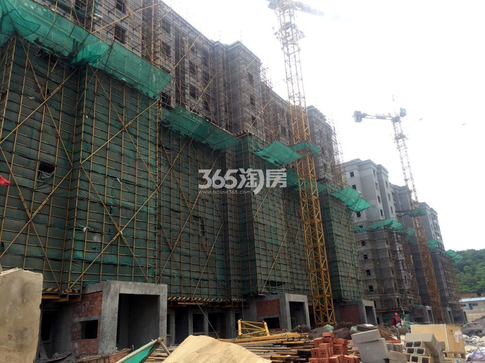 银亿东城12街区15、16号楼实景图(5.20)