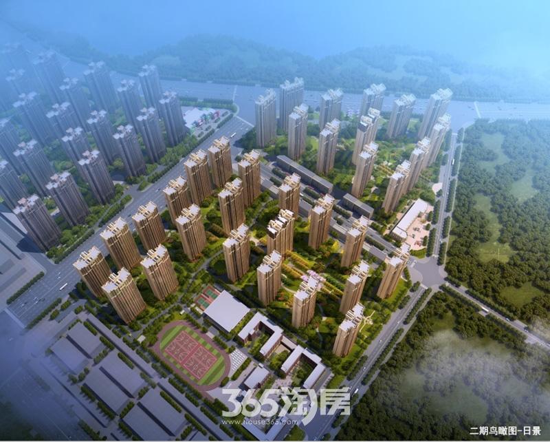 华南城紫荆名都二期鸟瞰图