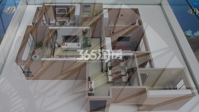 3#楼1单元A户型 三室两厅一厨两卫 建筑面积108.57㎡