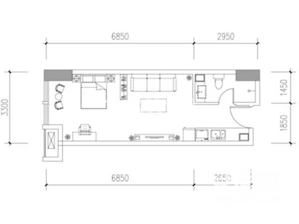 宫园美寓户型图