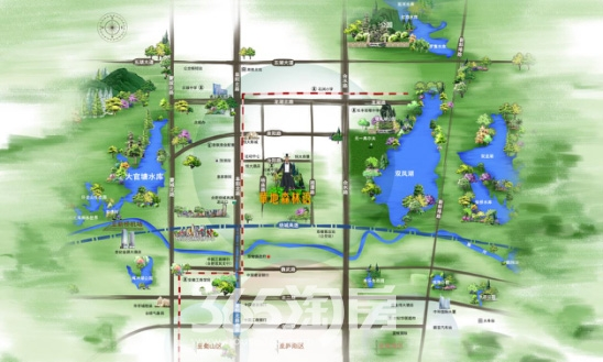 华地森林语交通图