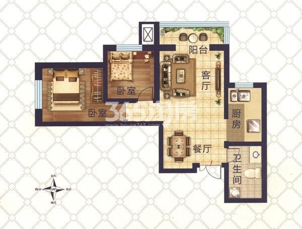 九洲城二期户型图