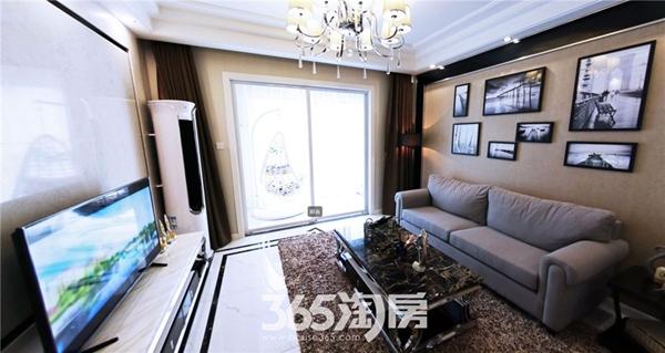 东方蓝海B2户型约88㎡样板间-客厅