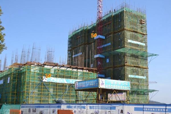 东方蓝海工程进度(2017.1摄)