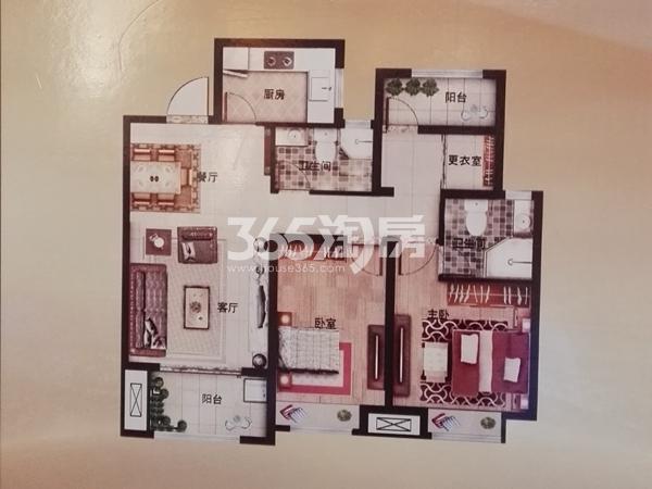 9#105㎡两室2厅