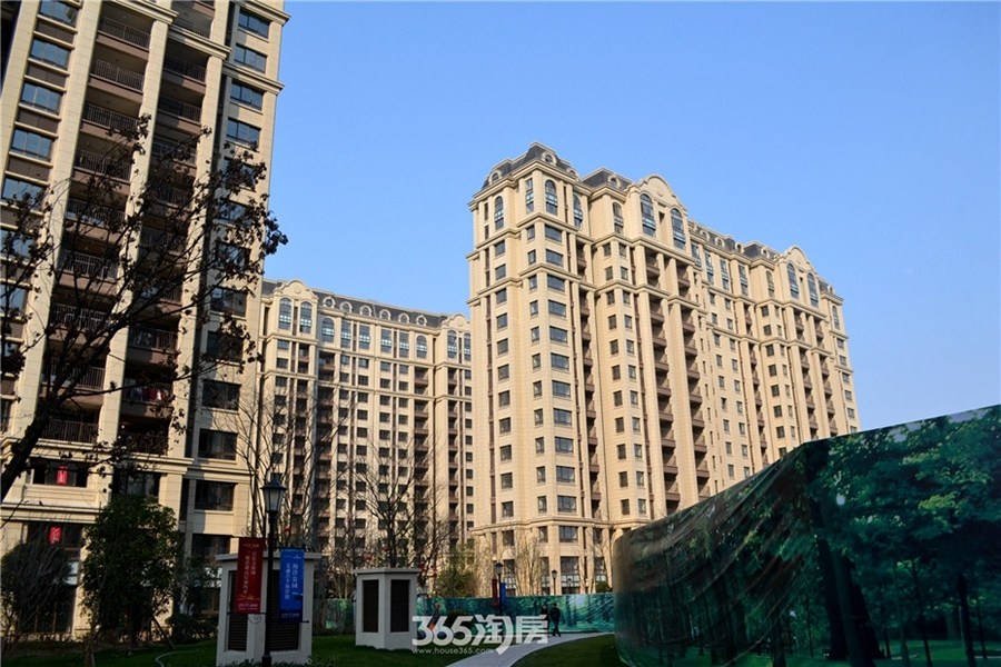 新华联梦想城小区景观(2017.3摄)