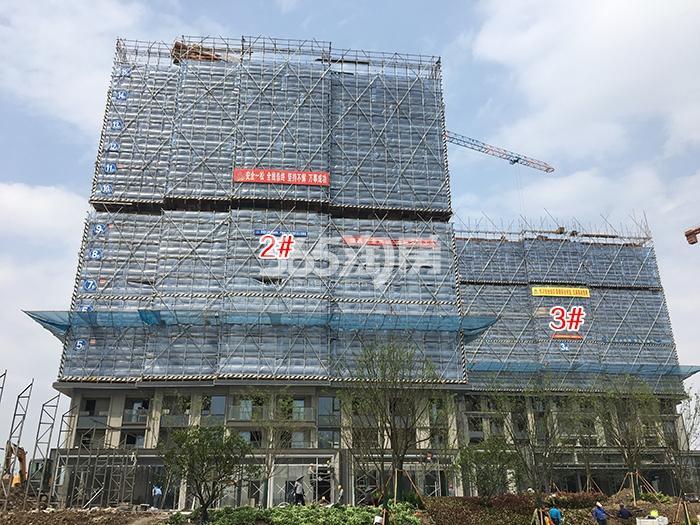 万科西雅图2、3号楼施工进程(2017.4)
