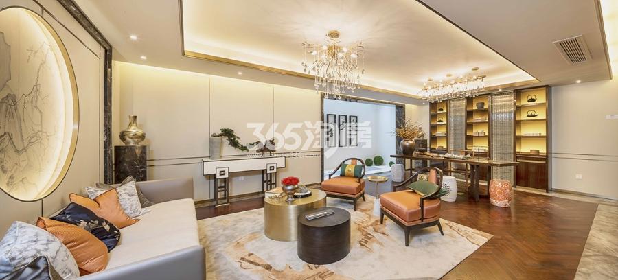 新城香悦公馆P1户型图150方样板房——地下室
