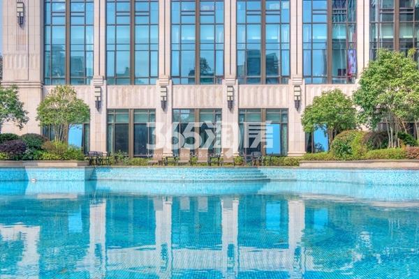 长泰国际社区泳池实景图(2017.5 摄)