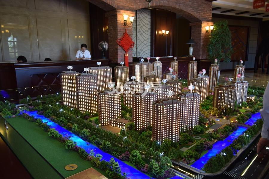 钱江绿洲实景图