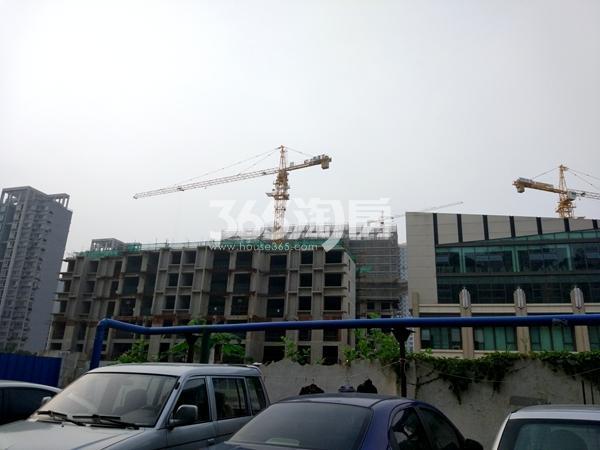 凌云峰阁工程实景(2017.7摄)