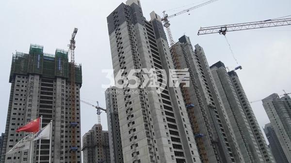 荣盛城一期工程实景图(8.9)